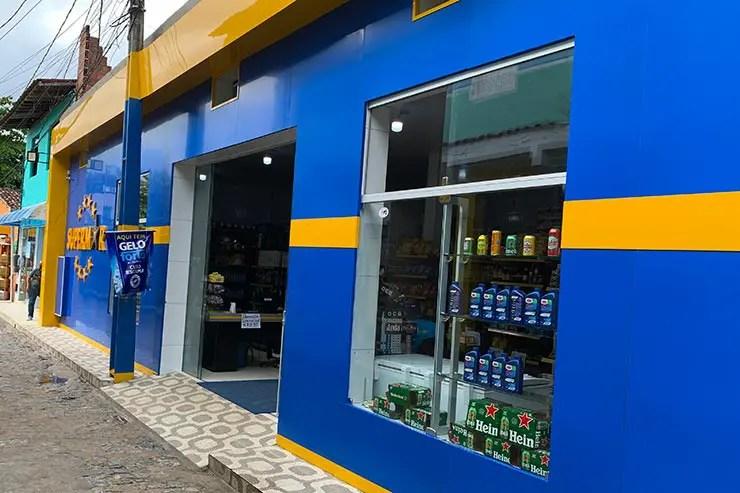 Supermercado em Boipeba (Foto: Esse Mundo é Nosso)