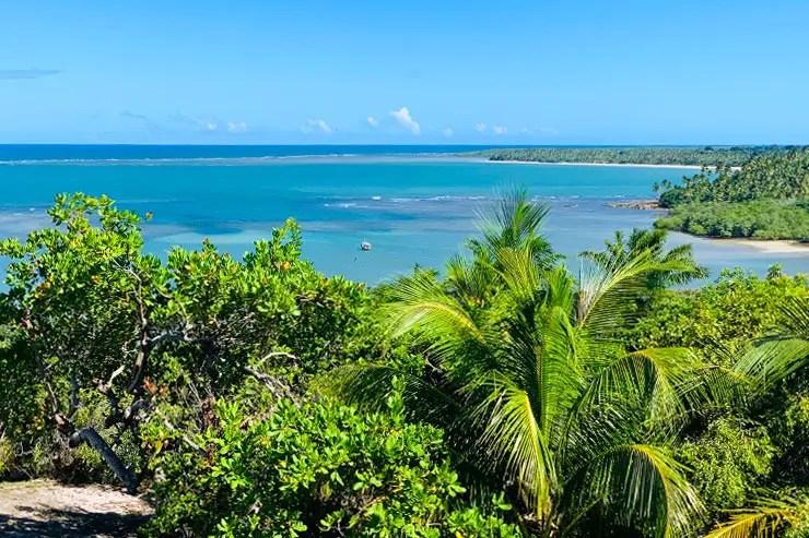Ilha de Boipeba: Vista do Alizées Moreré (Foto: Esse Mundo é Nosso)