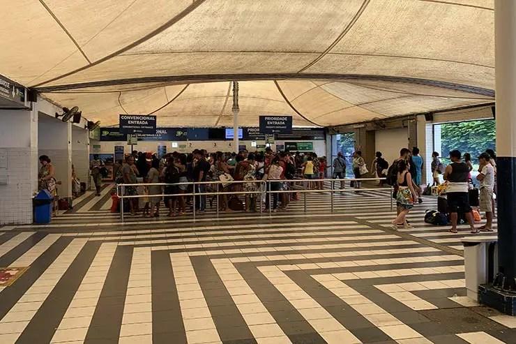 Como ir pra Boipeba: Terminal São Joaquim em Salvador (Foto: Esse Mundo É Nosso)