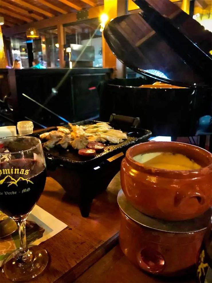 Onde comer fondue em Monte Verde: Alpminas (Foto: Divulgação)