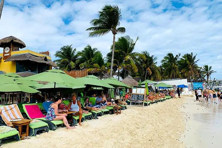 Quanto custa viajar pra Cancún e Playa del Carmen: Lido Beach Club em Playa del Carmen (Foto: Esse Mundo é Nosso)