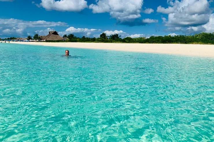 Playa Sur, em Cozumel (Foto: Esse Mundo é Nosso)