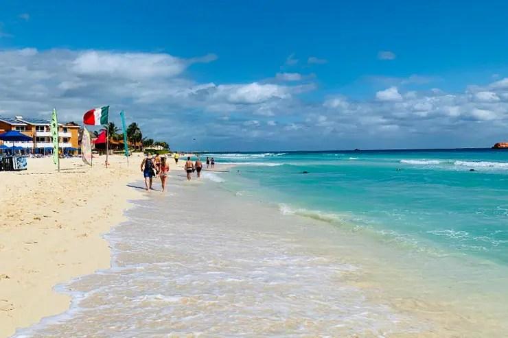 Playa del Carmen (Foto: Esse Mundo é Nosso)