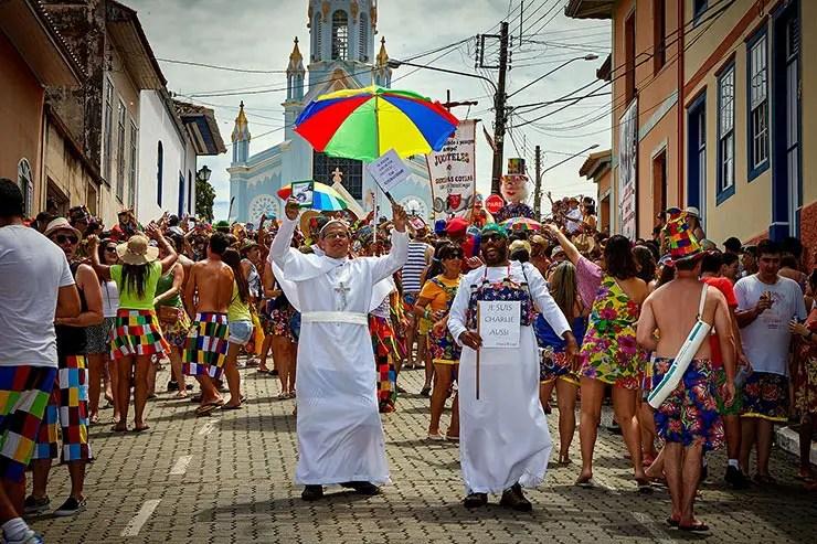 Carnaval em São Luiz do Paraitinga (Foto: Secretaria de Turismo de SP/Ken Chu - Expressão Studio)