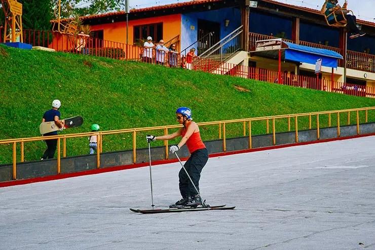 Cidades perto de São Paulo: Ski Mountaiin Park em São Roque (Foto: Secretaria de Turismo de SP/Sergio Luiz Jorge - Expressão Studio)