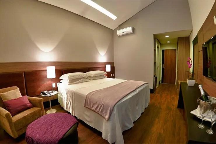 Quarto do Cordilheira Hotel (Foto: Reprodução/Booking)