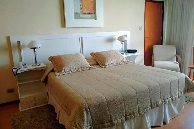 Hotéis e pousadas em Serra Negra: Radio Hotel (Foto: Reprodução/Booking)