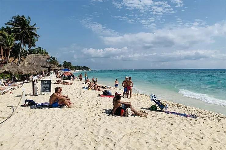 Praias de Playa del Carmen: Playa Mamitas (Foto: Esse Mundo É Nosso)