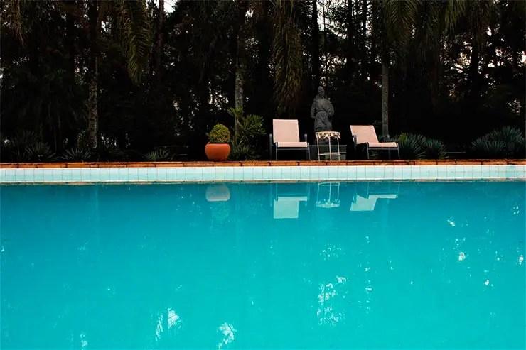 Hotéis e pousadas em Águas de Lindóia: Piscina do Espaço Casa Grande Charm Hotel (Foto: Reprodução/Booking)