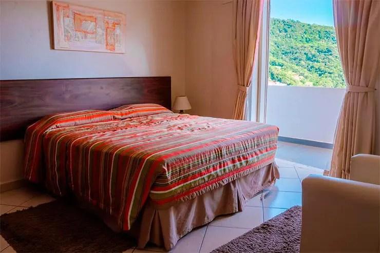 Hotéis e pousadas em Águas de Lindóia: Quarto do Panorama Spa e Hotel (Foto: Reprodução/Booking)