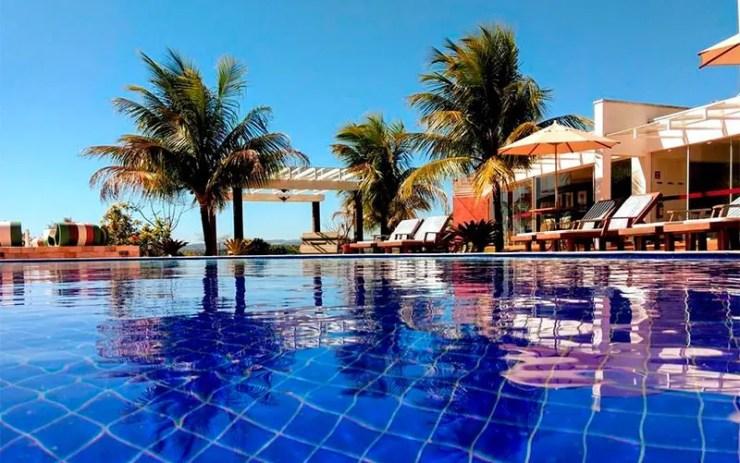 Hotéis e pousadas em Brotas: Piscinas da Frangipani (Foto: Reprodução/Booking)