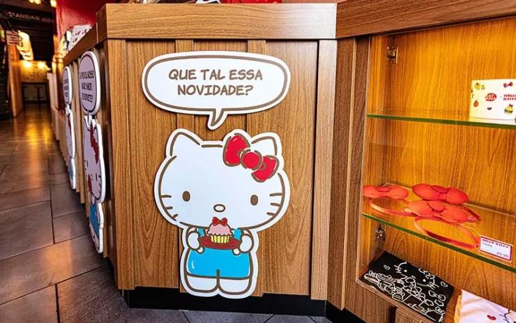 Café da Hello Kitty em São Paulo : Ambiente (Foto: Divulgação)