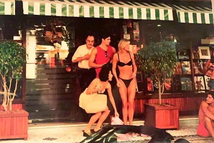 Quantos anos Vera Fischer tinha em Laços de Família? Atriz em cena do primeiro capítulo da novela (Foto: Instagram/Vera Fischer)