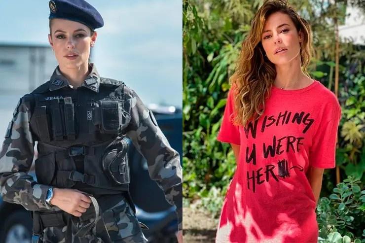 Que ano passou A Força do Querer? Paolla Oliveira foi muito elogiada por Jeiza (Foto: Reprodução/Memória Globo e Instagram)