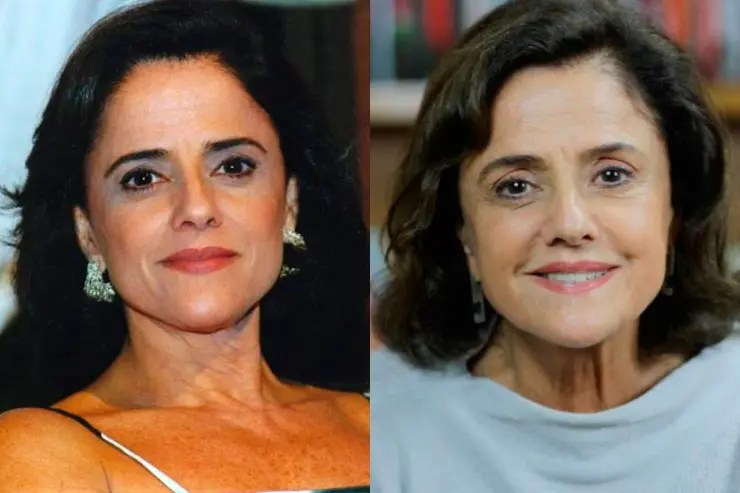 Marieta Severo (Fotos: Memória Globo e Divulgação/Viva)