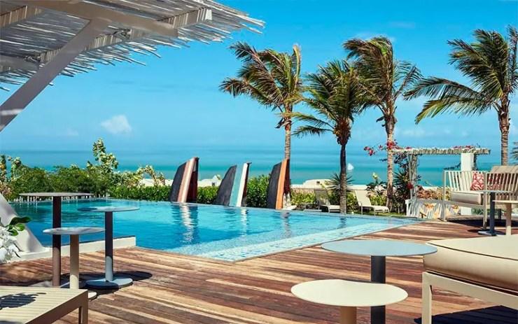 Onde se hospedar em Jericoacoara: Piscina do The Chili Beach Private Resort (Foto: Divulgação)