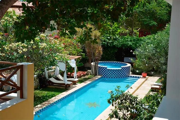 Hotéis e pousadas em Jericoacoara: Piscina do Villa Terra Viva (Foto: Divulgação)