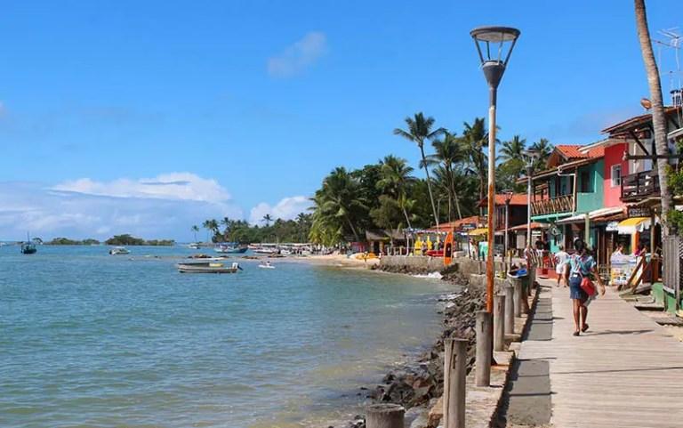 Terceira praia em Morro de SP