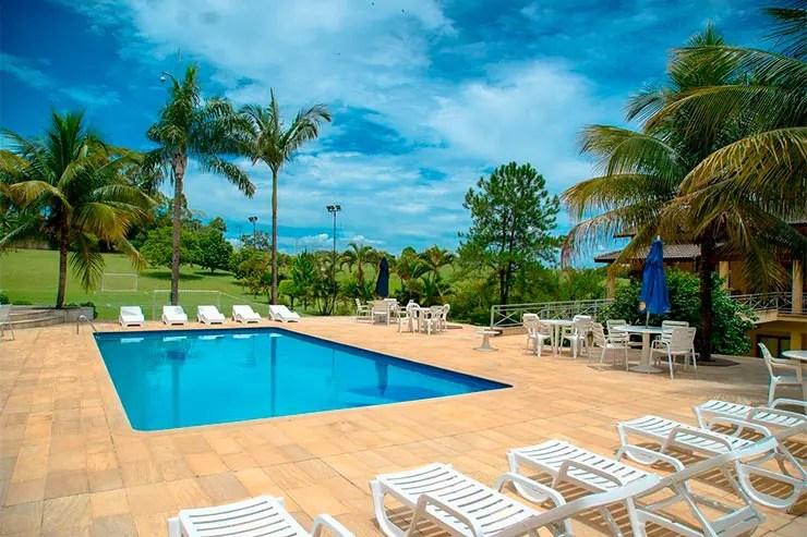 Hotéis e pousadas em Itu: Piscina da Otho Hotel (Foto: Divulgação)