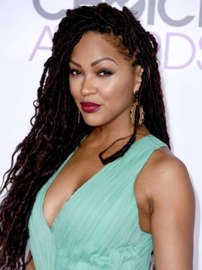 photo fab: we're obsessed with meagan good's faux locs