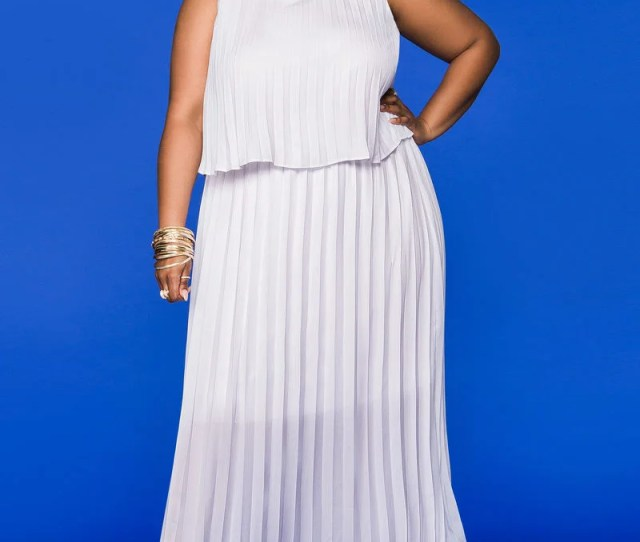 Pretty Plus Size Dresses For Spring
