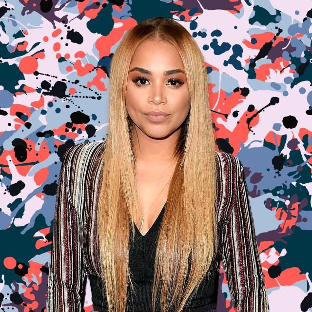 lauren london debuts blonde hair - essence