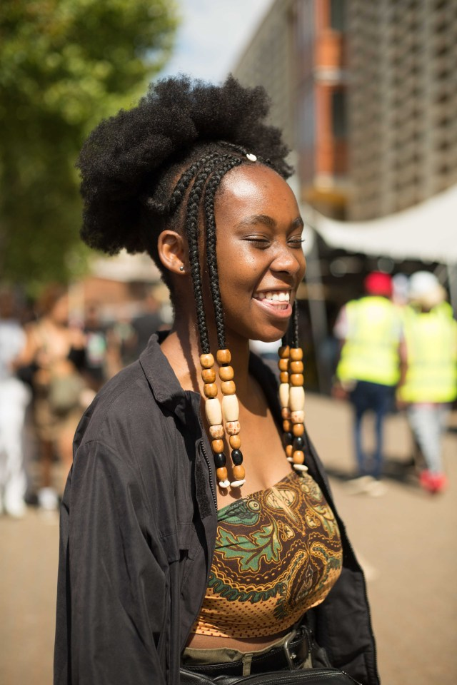 the epic hairstyles from afropunk south africa 2017 - essence