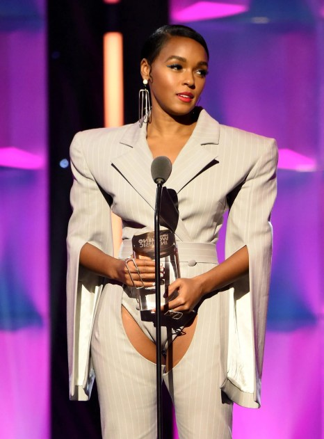 Bildergebnis für Janelle Monae Wore To Billboard Women In Music Award