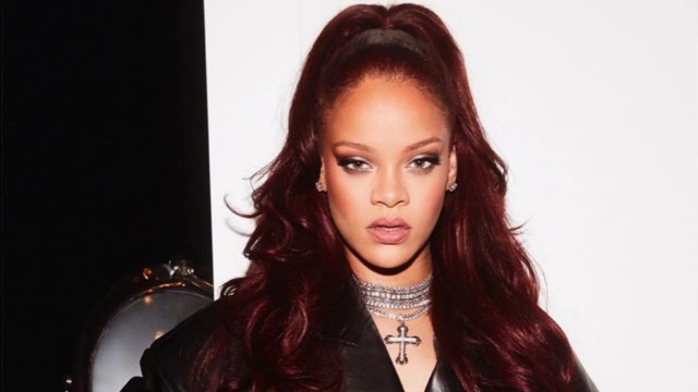 exclusive: rihanna uses this $5 shampoo to make her red hair