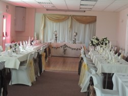 Essendine Village Hall - Essendine Wedding Set Up 05