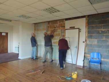 Essendine Village Hall - Working Party for Essendine Village Hall 04