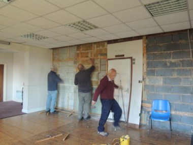 Essendine Village Hall - Working Party for Essendine Village Hall 05