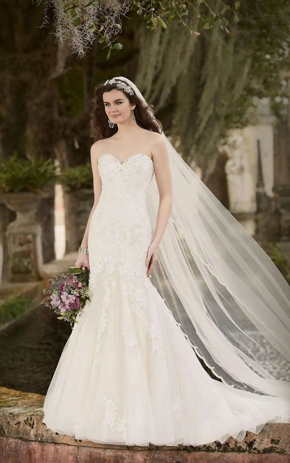 Classic Lace Wedding Dress Essense Of Australia