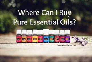 buy pure essential oils