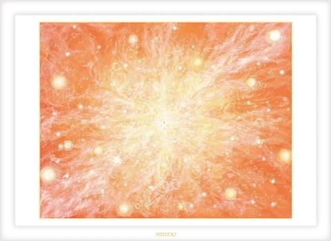 True-light:ヒーリングアート画像
