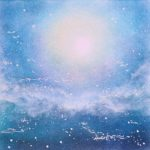 ヒーリングパステルアート-月の明かり画像