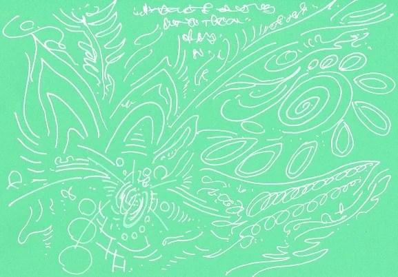 HIDEKI作20170821ヒーリングアート&メッセージ