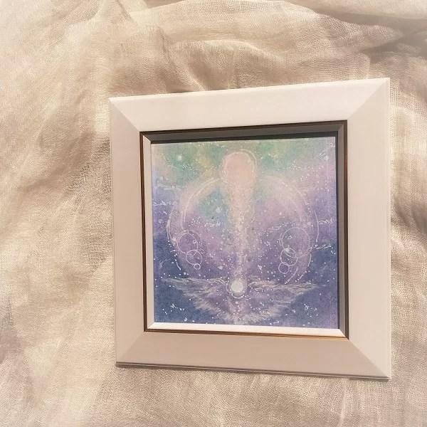 生み出すヒカリ・パステル絵画の画像
