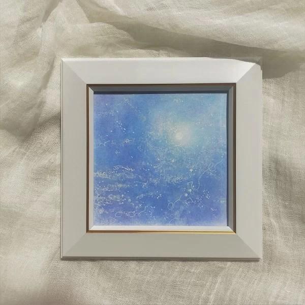 月光・パステルアートの画像