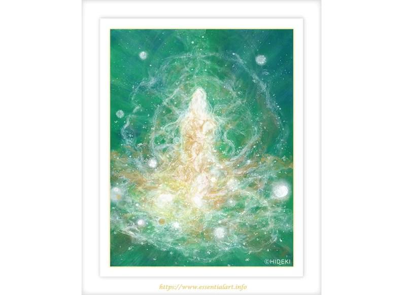 アックリル絵画 創世の女神