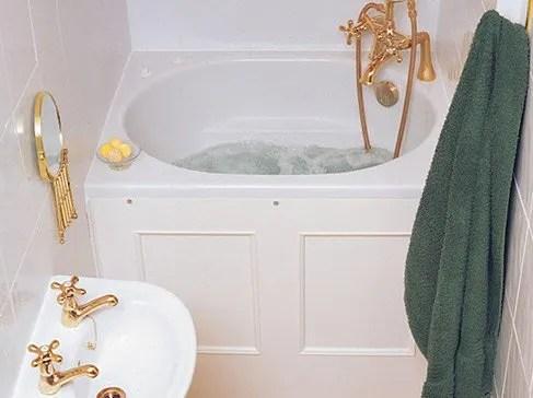 The Bekko Bath Compact Range Deep Soaking Bath