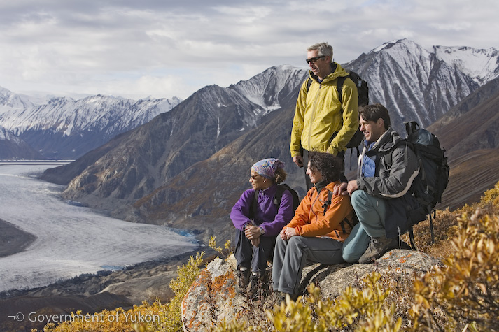 Enjoy an iconic drive around Yukon's Klondike/Kluane Loop