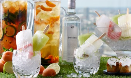 LÁNG Terrace and Jenson's Gin delight summer senses with gin-infused sweets, treats, pitchers and punches