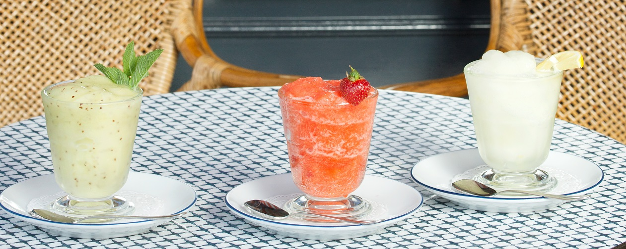 Treat yourself to a tangy, revitalising granita