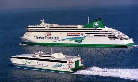 Take the ferry to Ireland from your local railway station