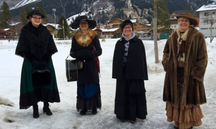 The Belles are ringing in Kandersteg