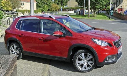 Peugeot 2008 crossover shows off its true grit