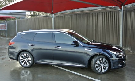 Kia Optima provides elegance and space