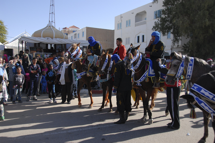 Destined for a date festival in Tunisia