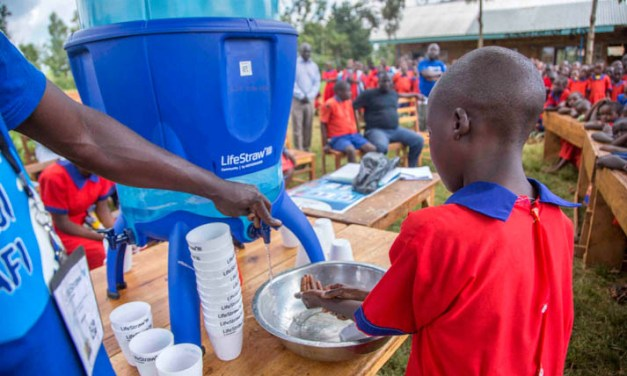 Milestone for LifeStraw's 'Follow the Liters' campaign